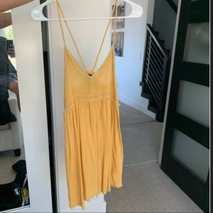 Urban Outfitters yellow sundress